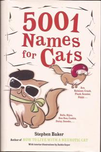 5001 NAMES FOR CATS
