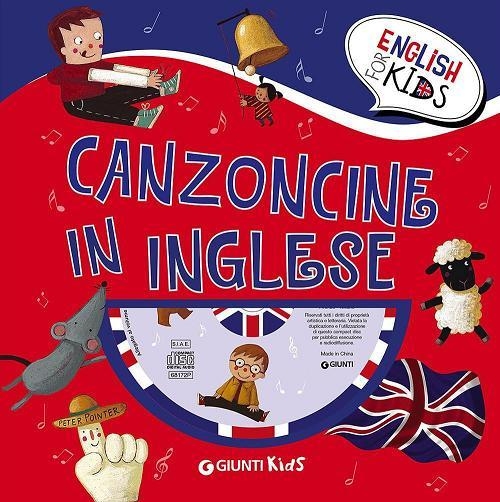 CANZONCINE IN INGLESE